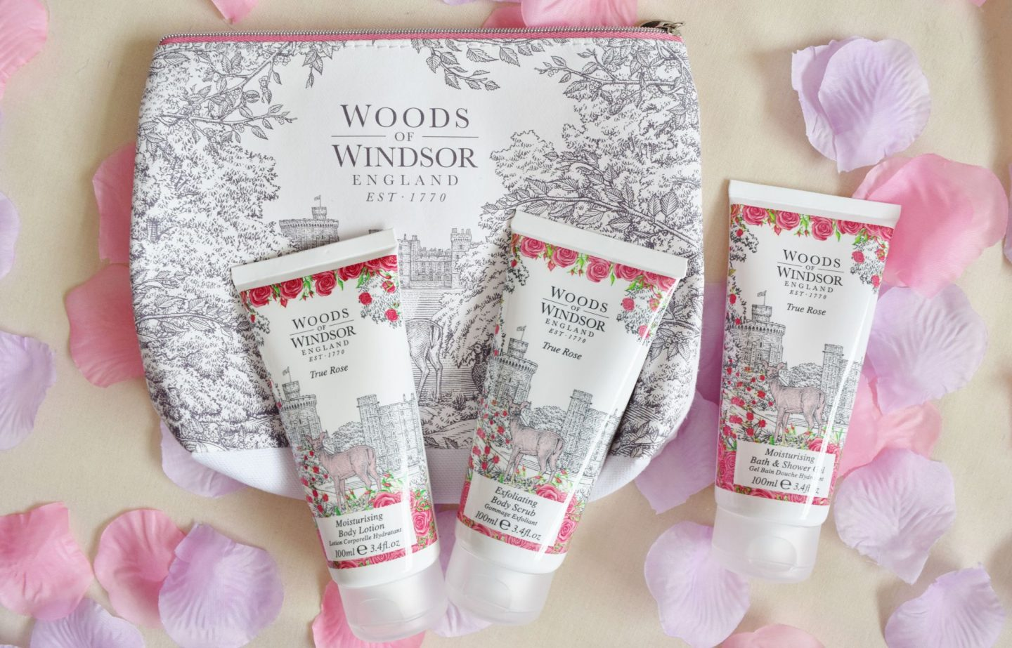 Woods of Windsor True Rose Bath & Body Collection