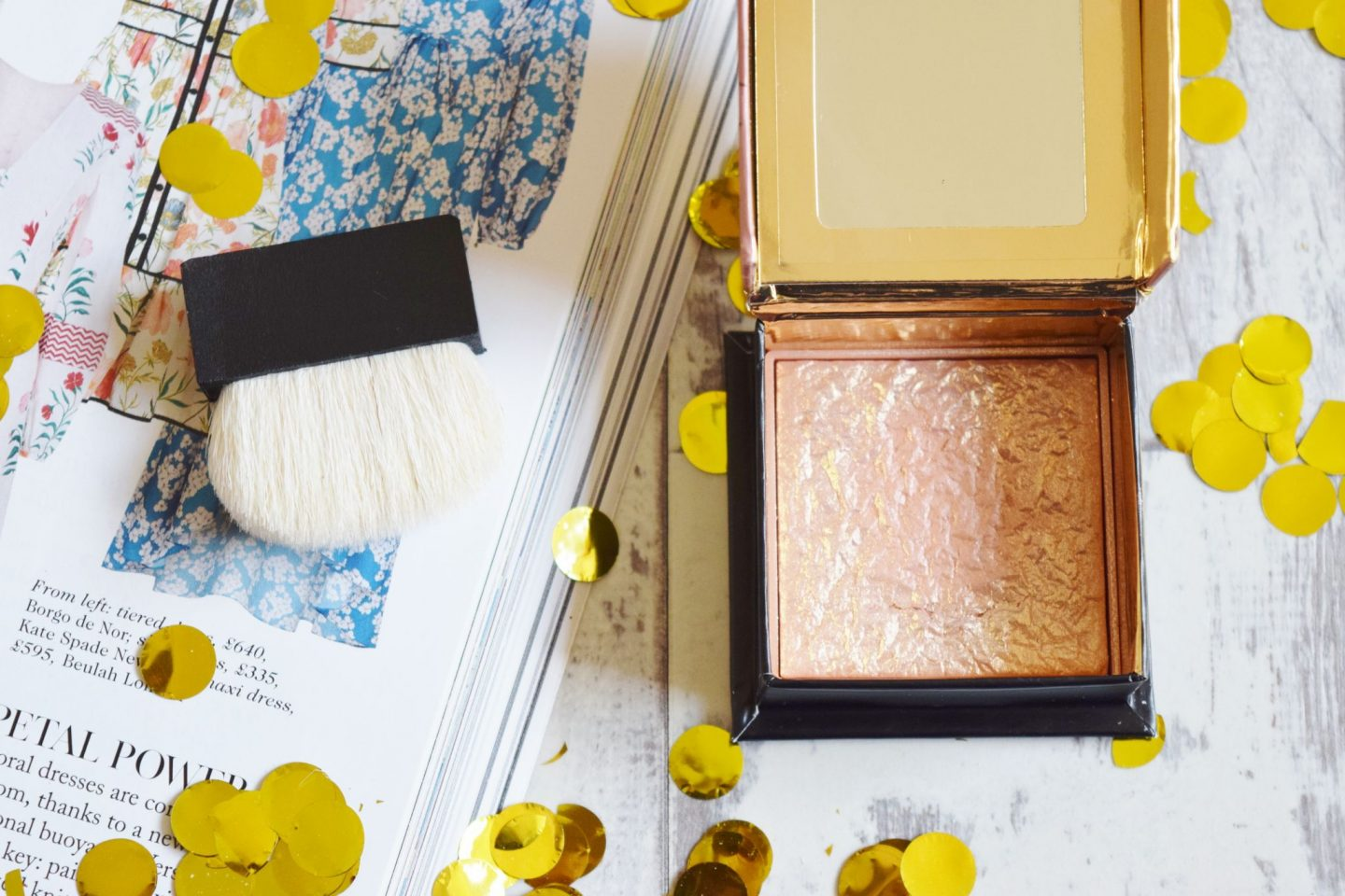 Benefit Cosmetics Gold Rush