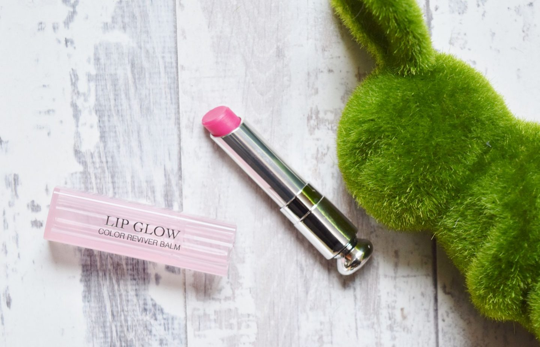 Dior Addict Lip Glow Colour Reviver Lip Balm in 007 Raspberry