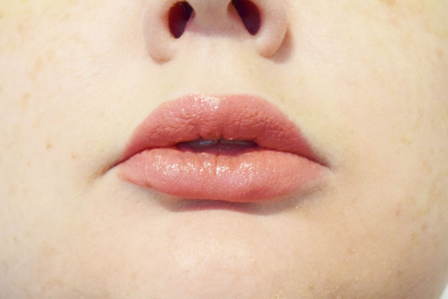 Burt's Bees Gloss Lipstick in 516 Rose Falls swatch