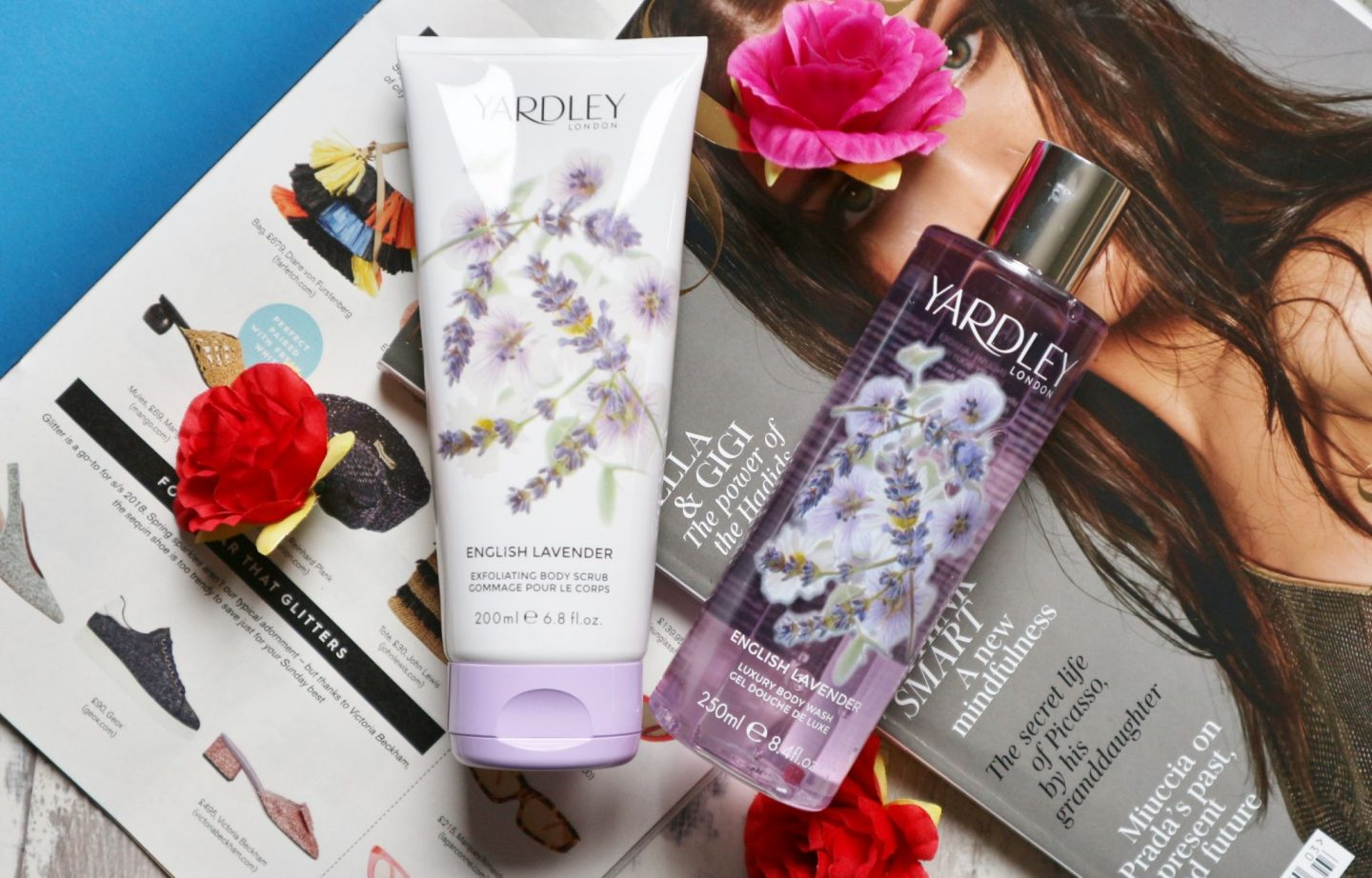Yardley Lavender Body Scrub & Body Wash
