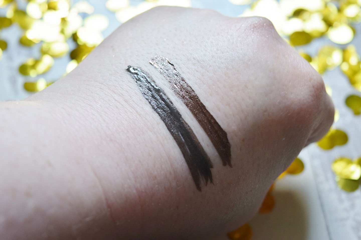 Bobbi Brown Dual-Ended Long Wear Liquid Liners Swatches