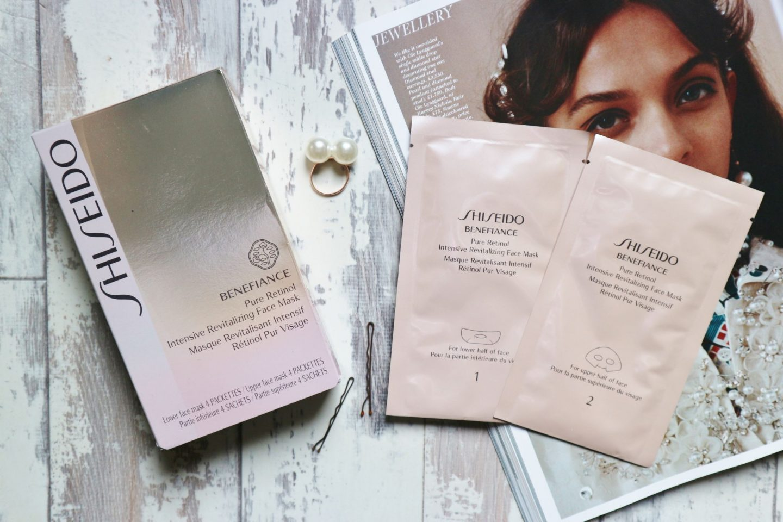 Shiseido Benefiance Face Mask