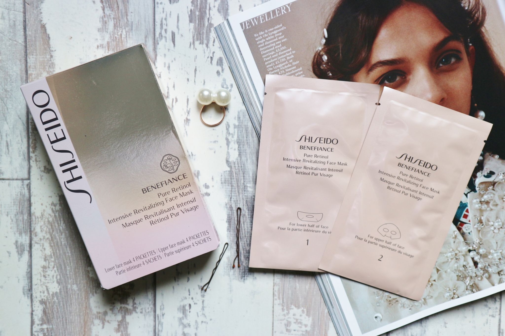 Shiseido Benefiance Face Mask