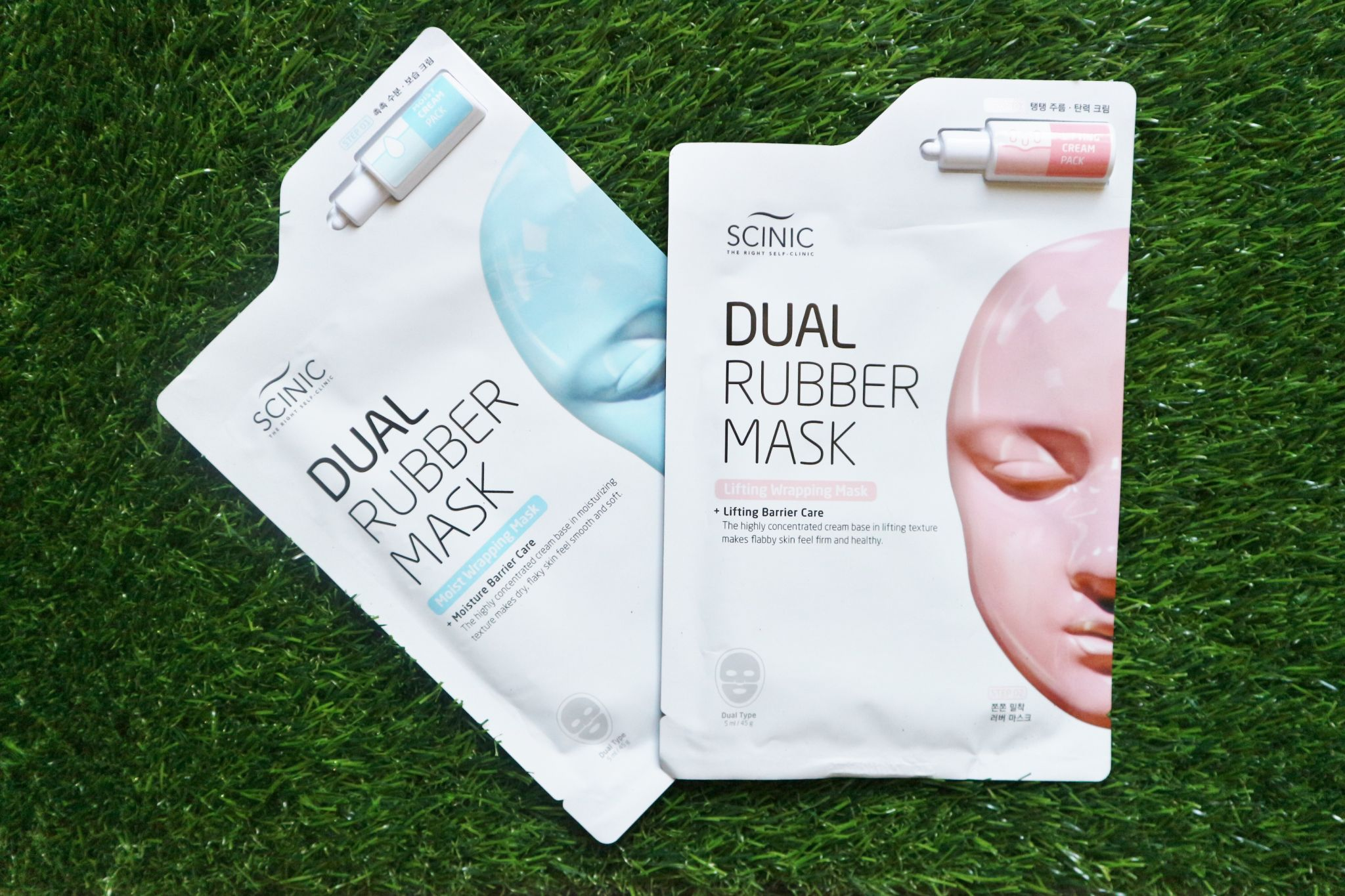 Scinic Dual Rubber Masks