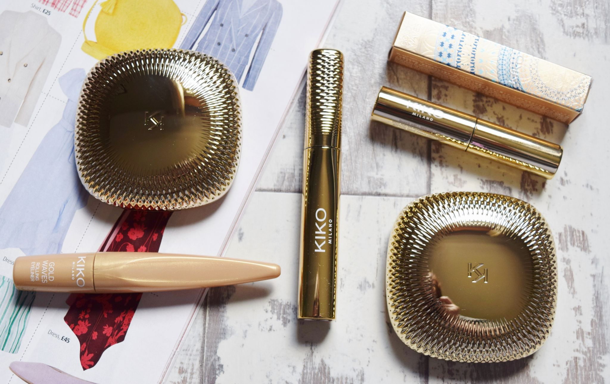 kiko gold waves collection