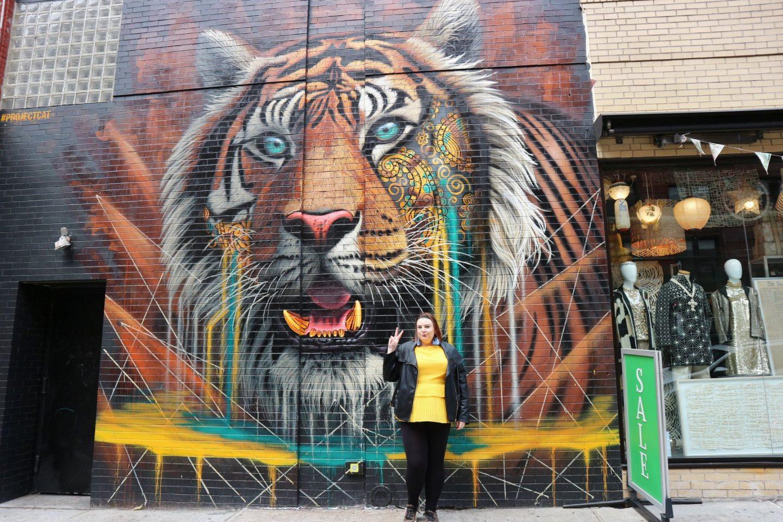new york tiger mural