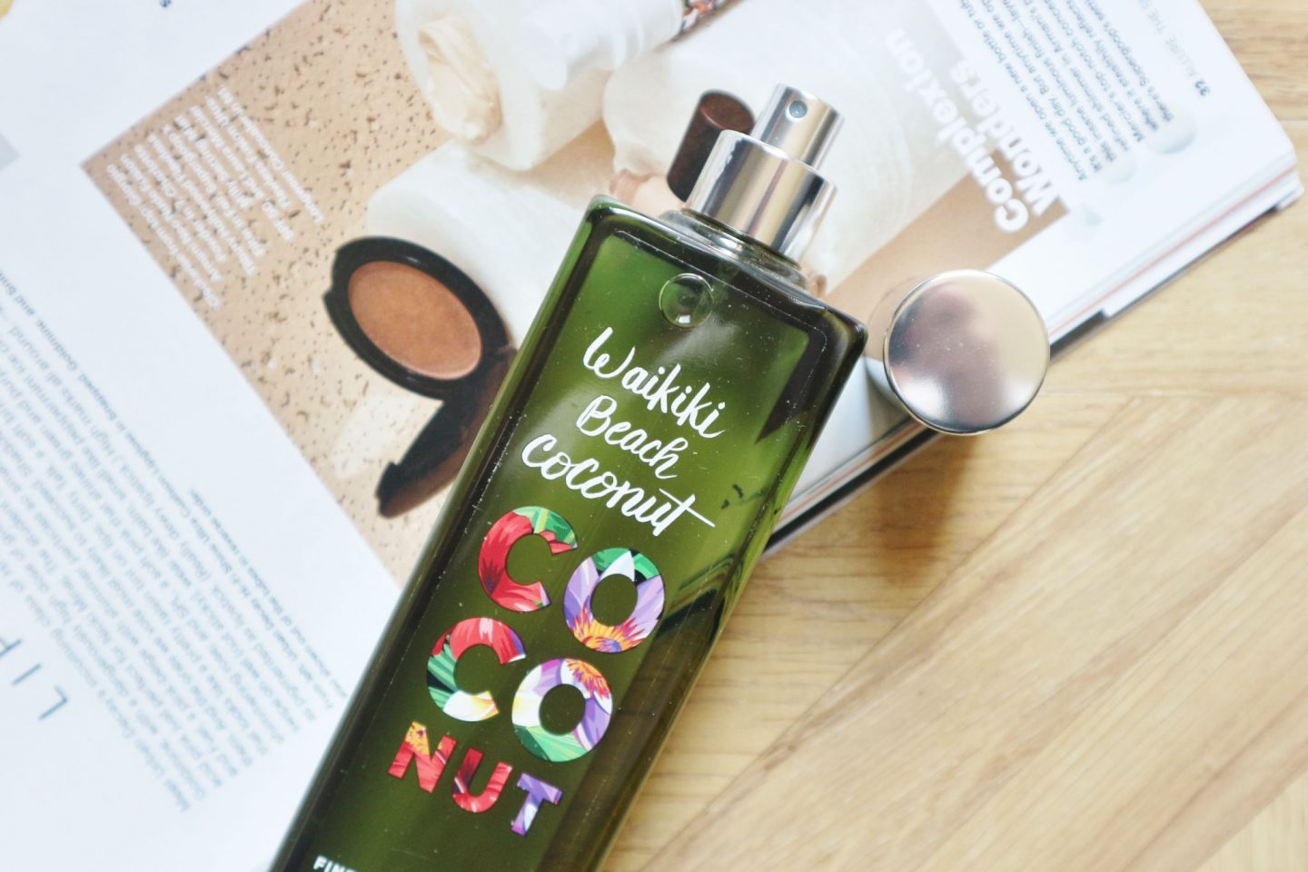 Bath & Body Works Waikiki Beach Coconut Fine Fragrance Mist