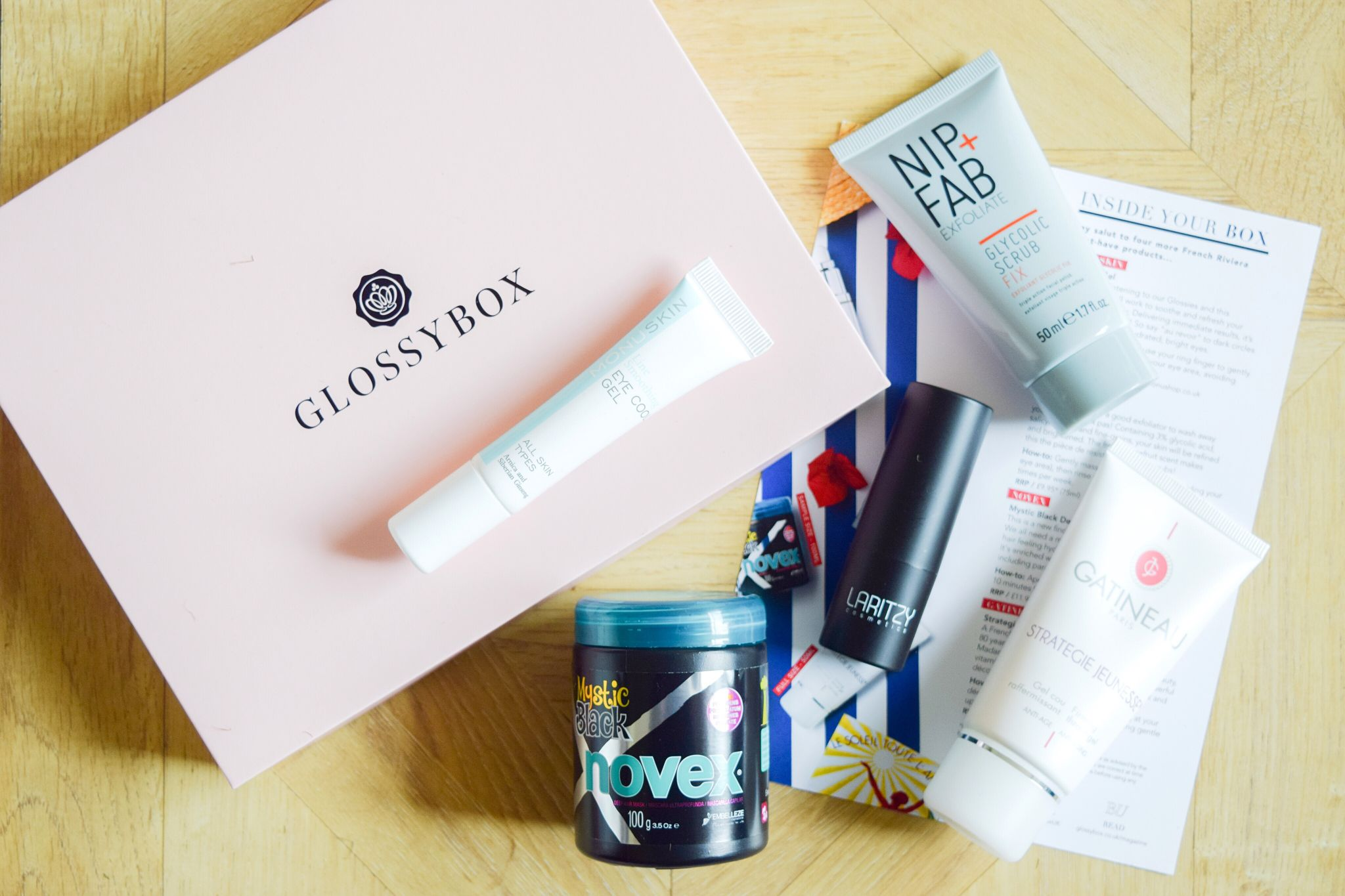 glossybox june 2018 box