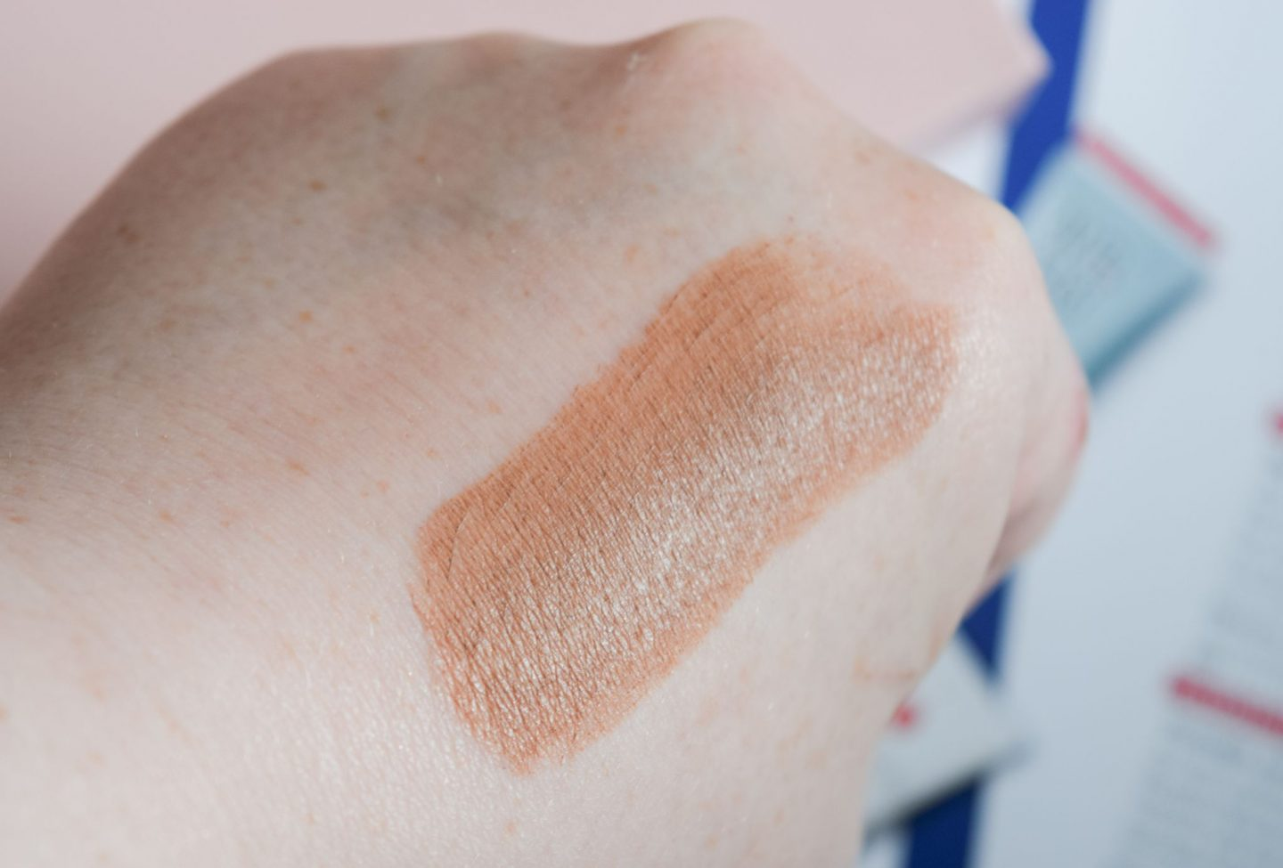Laritzy Cosmetics Bronze Shade Stix swatch