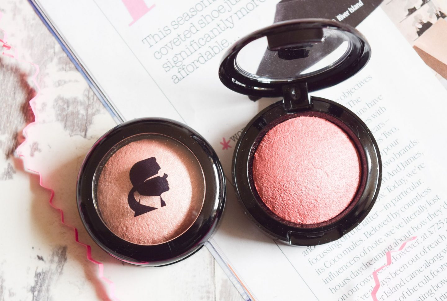 Model CO x Karl Lagerfeld Baked Blush by Model Co #19