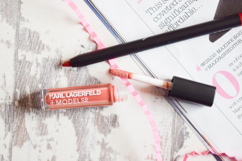 karl lagerfeld x modelco lip gloss
