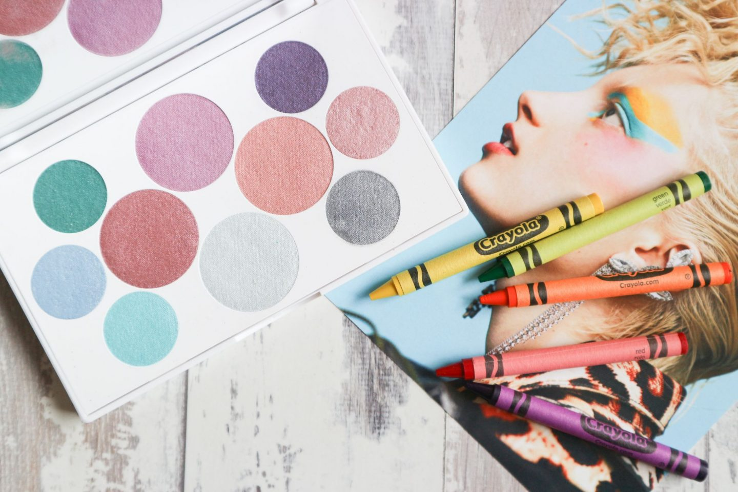 Crayola Eyeshadow Palette Mermaid