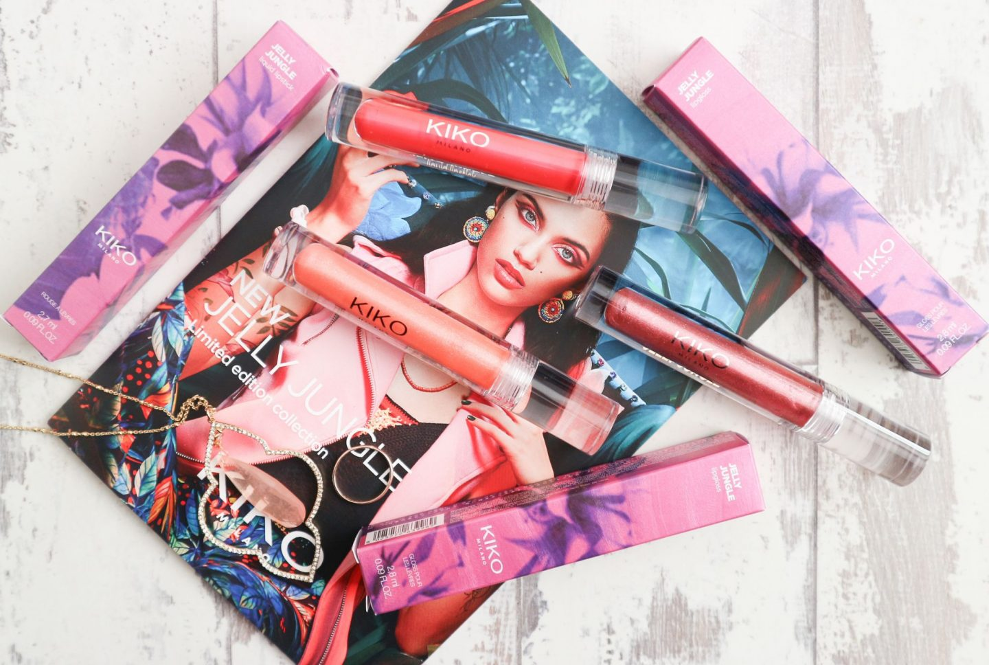 kiko jelly jungle lip gloss