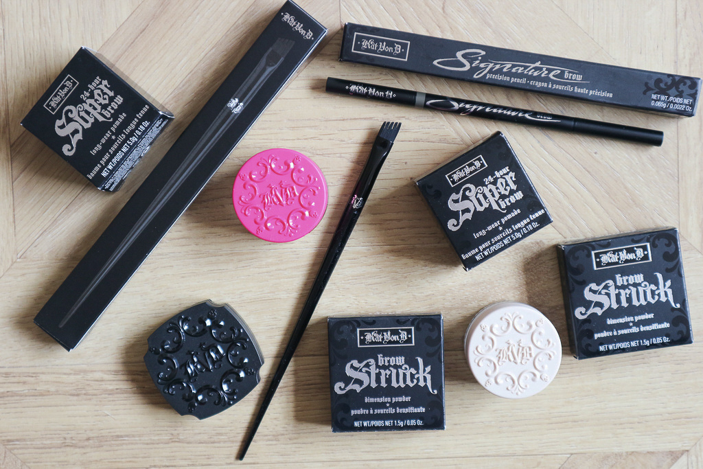 kat von d brow products