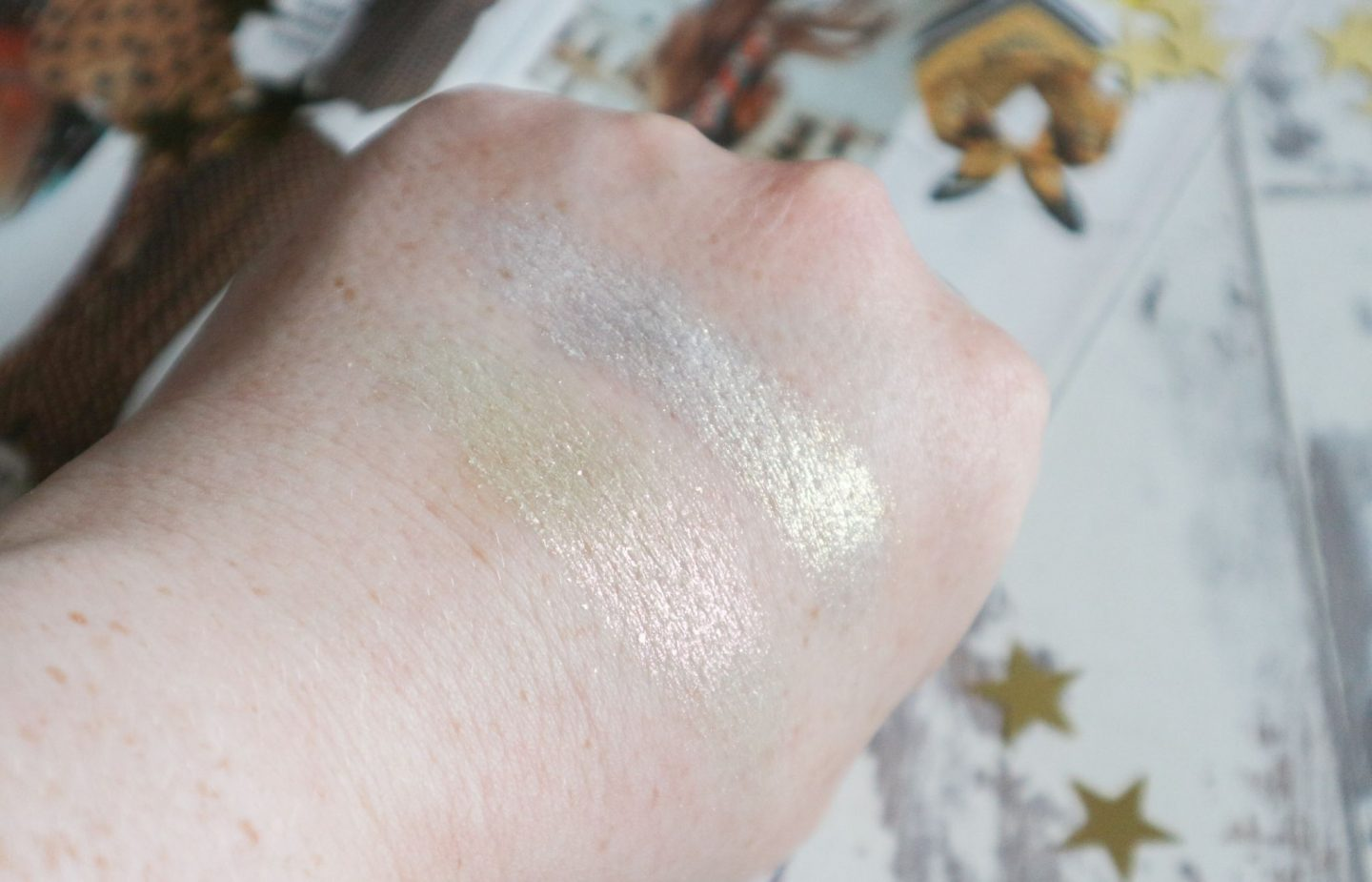 Kat Von D Metal Crush Extreme Highlighter swatches