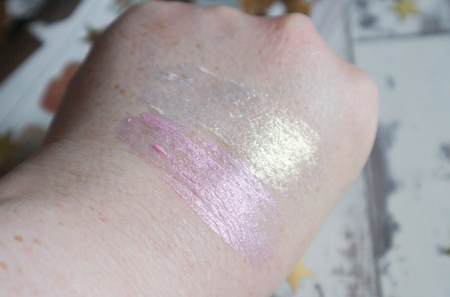 Kat Von D Metal Crush Liquid Highlighter swatches