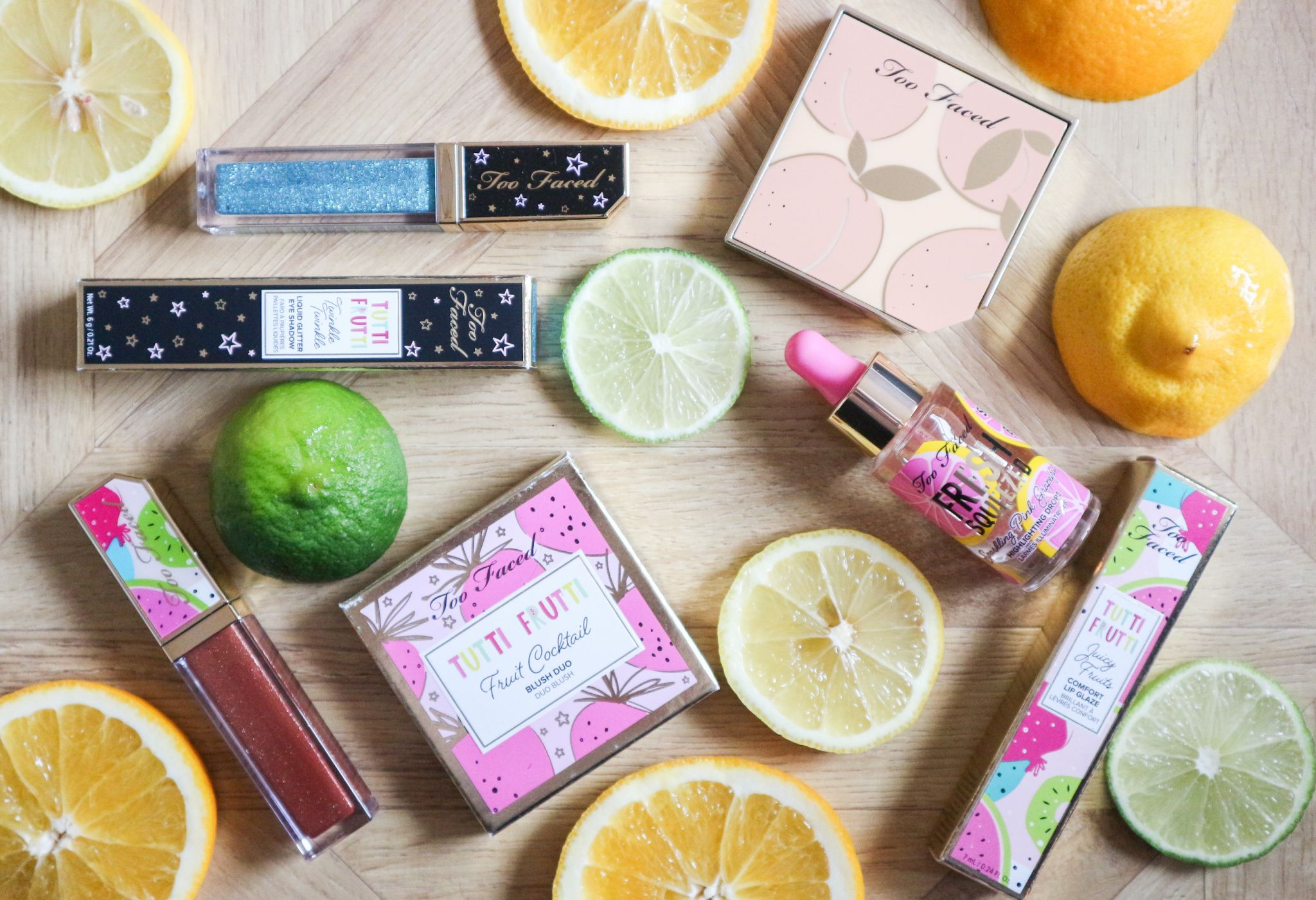 Too Faced Tutti Fruiti Collection