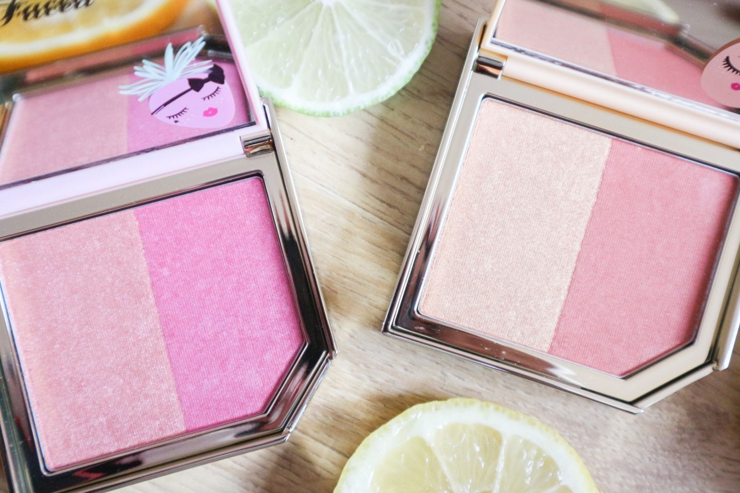 Too Faced Tutti Fruit Fruit Cocktails Strobing Blush Duos