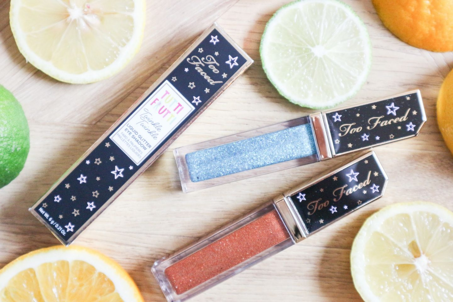 Too Faced Tutti Fruiti Twinkle Twinkle Liquid Glitter Eyeshadow