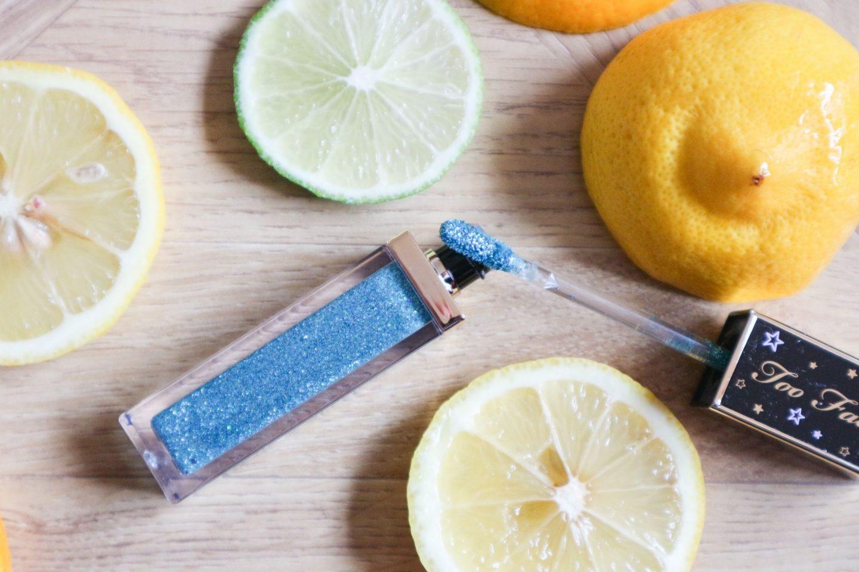 Too Faced Tutti Fruiti Twinkle Twinkle Liquid Glitter Eyeshadow in Ice Queen