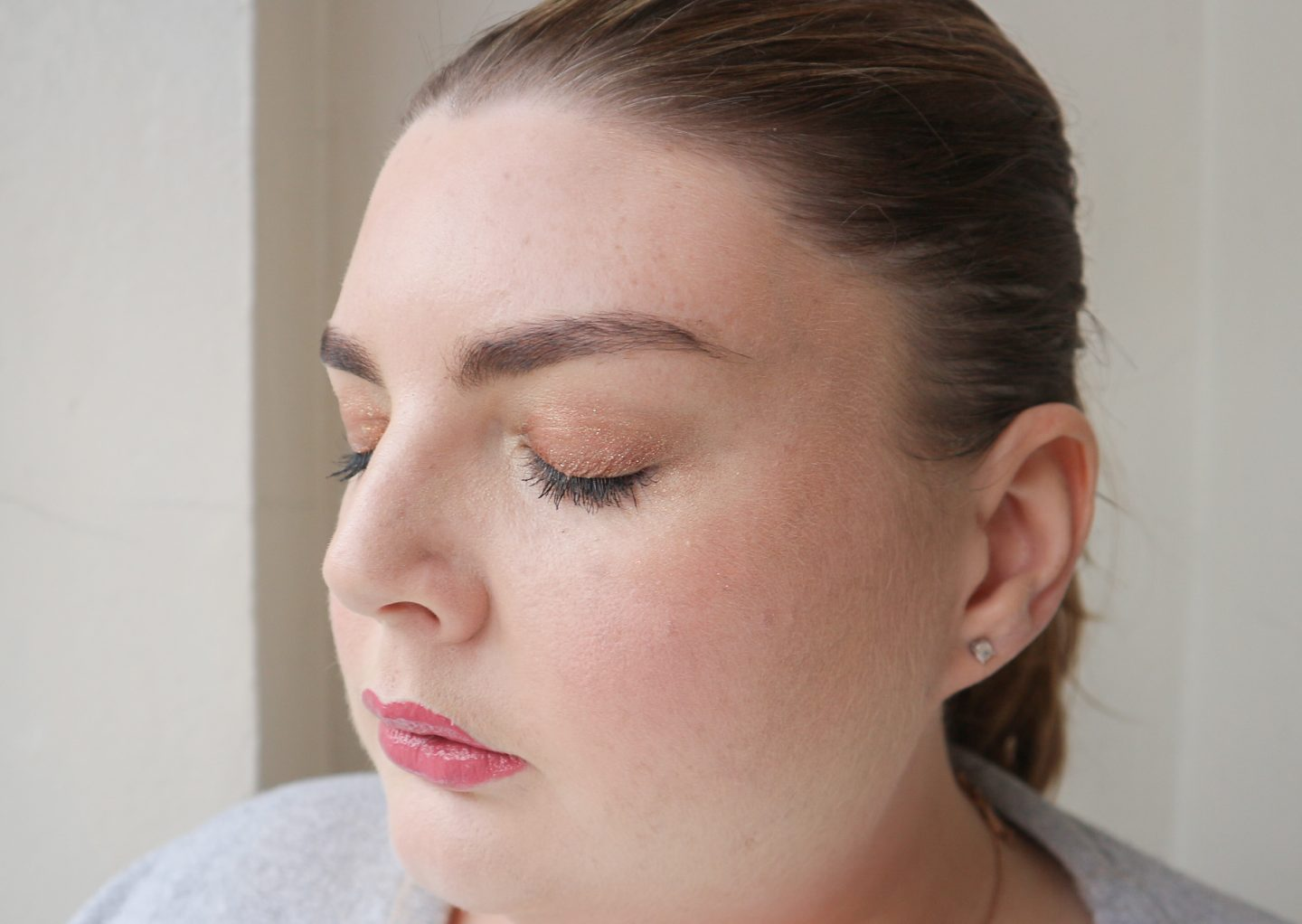 too faced tutti fruiti makeup look