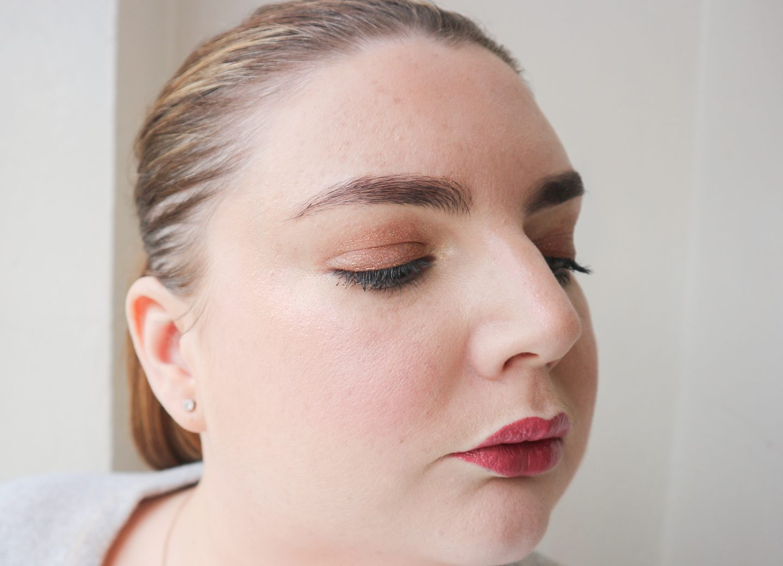 too faced tutti fruiti makeup look