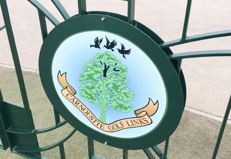 carnoustie link golf course