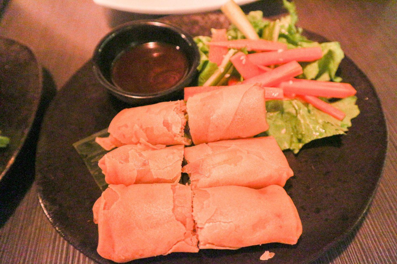 lychee oriental Crispy Duck Rolls
