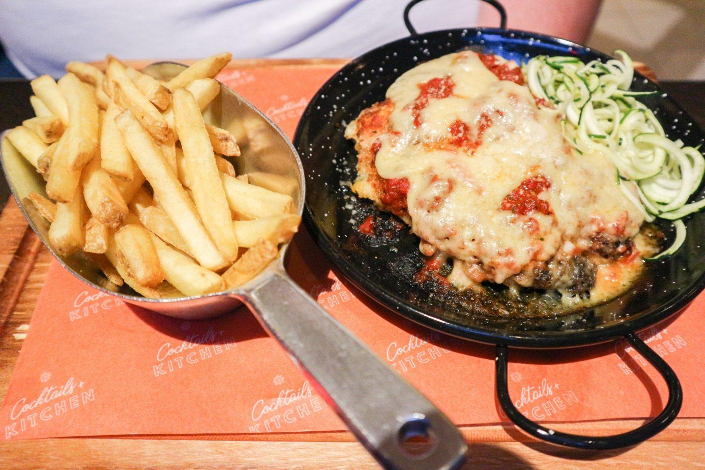 revolution chicken parmesan