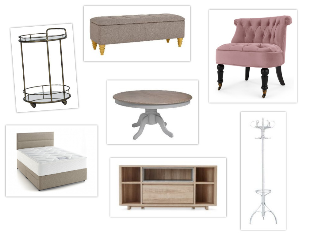 new flat furniture wishlist