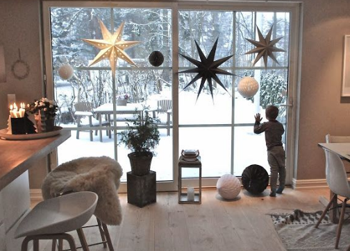 christmas star decor