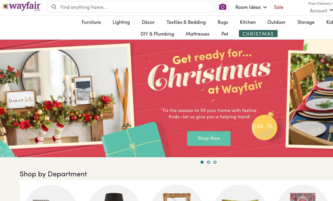 wayfair website