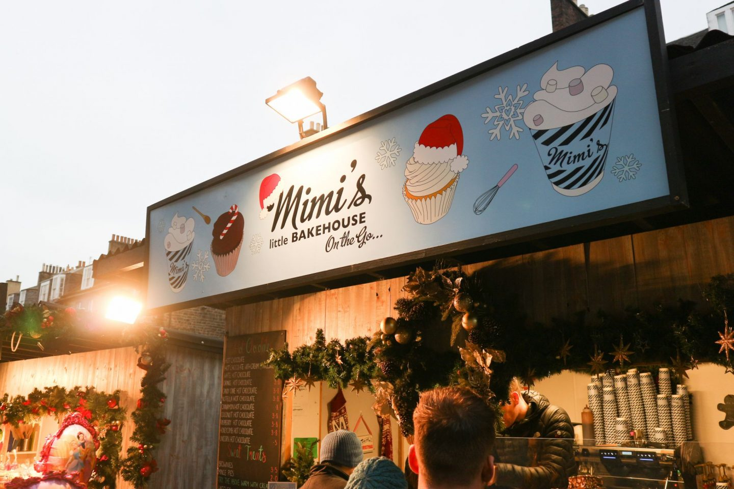 Mimi's Bakehouse On-The-Go edinburgh christmas market