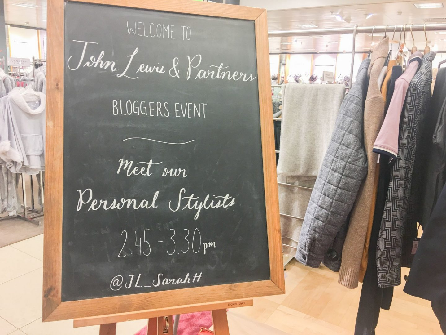 john lewis blogger event
