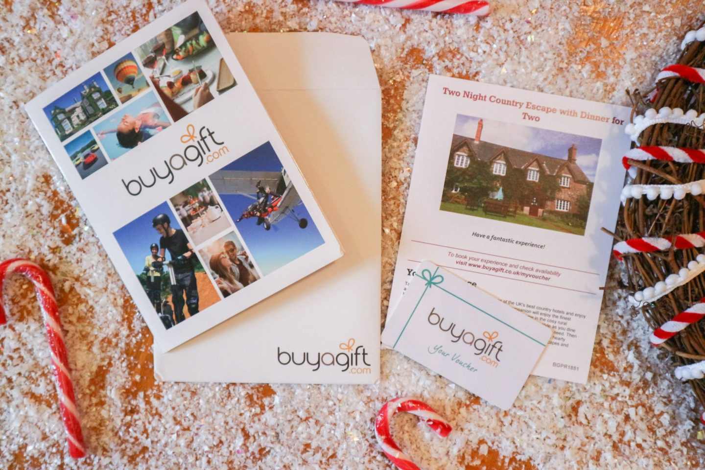 buyagift 2 Night Country Escape with Dinner for 2