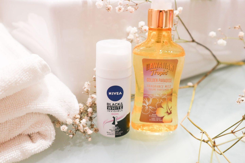 deodorant and fragrance