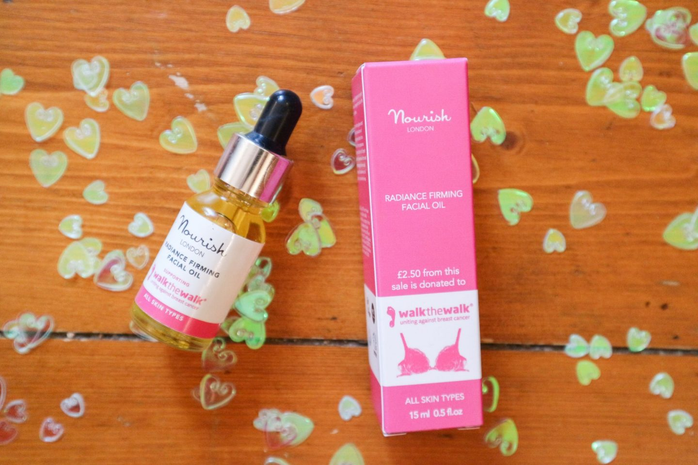 Nourish London Radiance Firming Facial Oil Walk the Walk Limited Edition