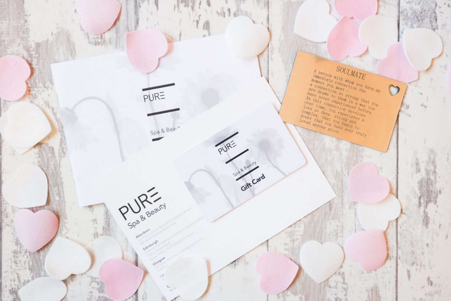 pure spa voucher