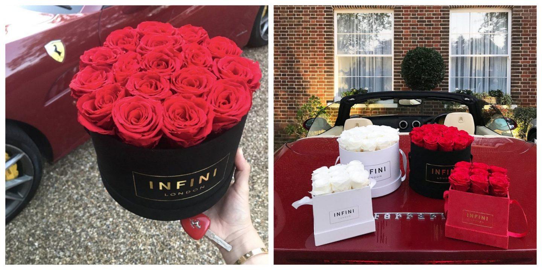Infini London preserved roses