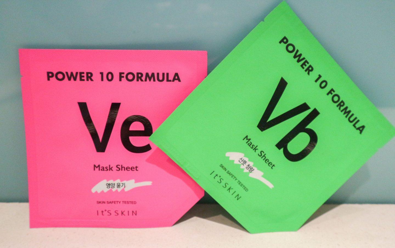 It's Skin Power 10 Sheet Masks