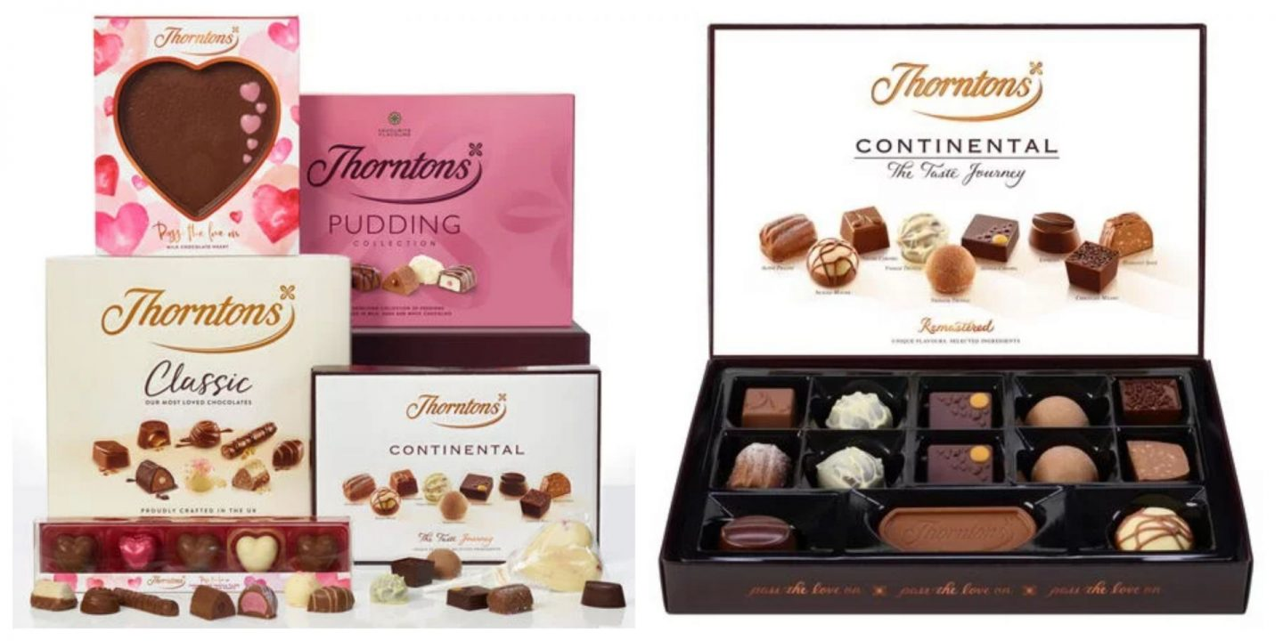 thorntons valentine's day chocolate gifts