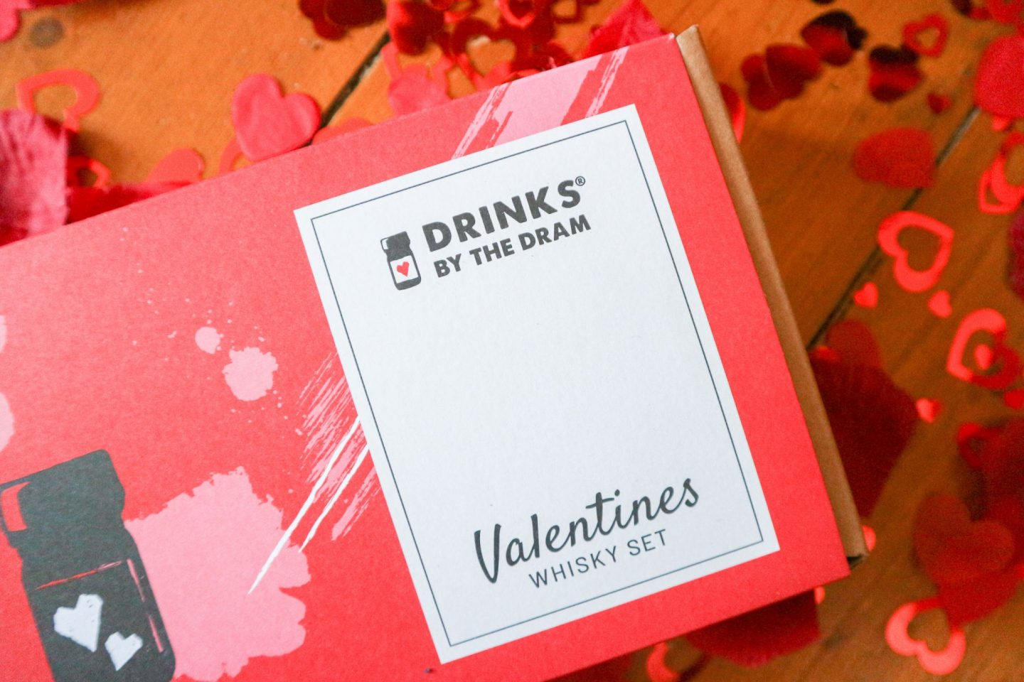 Drinks by the Dram Valentine's Whisky Set