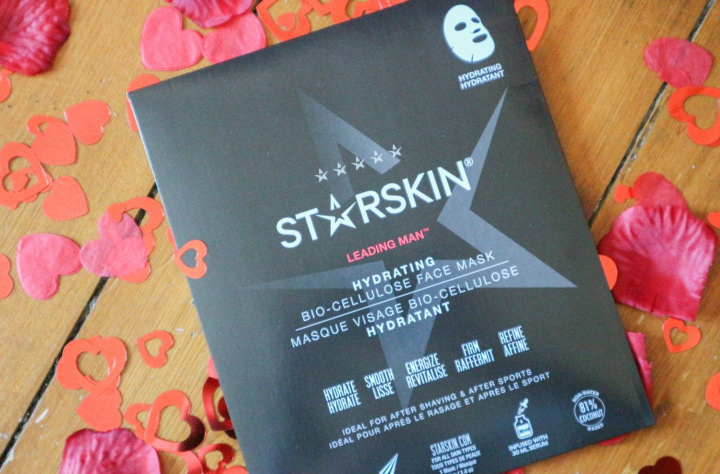 Starskin Leading Man Bio-Cellulose Mask