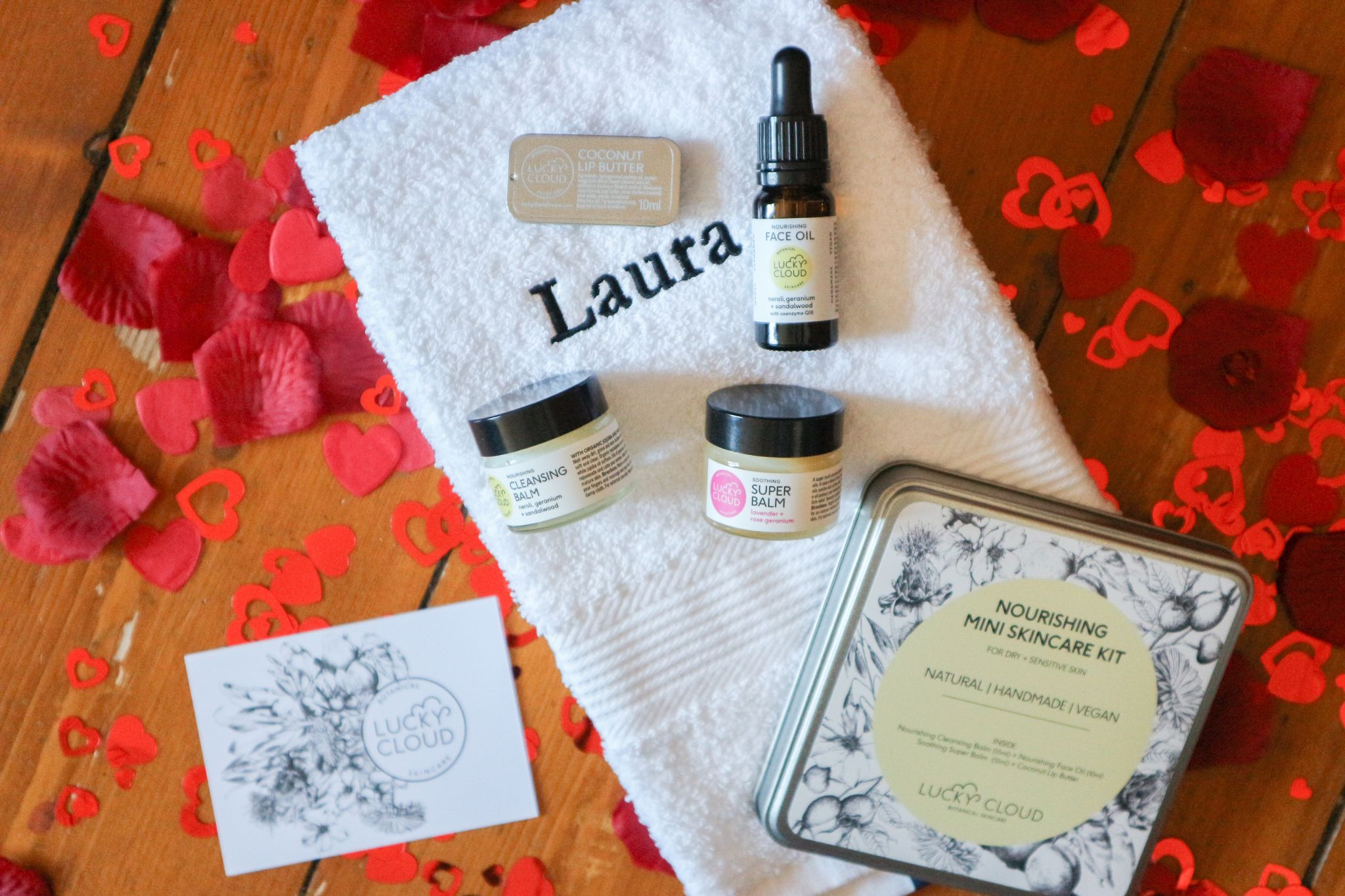 Lucky Cloud Skincare Mini Nourishing Skincare Kit