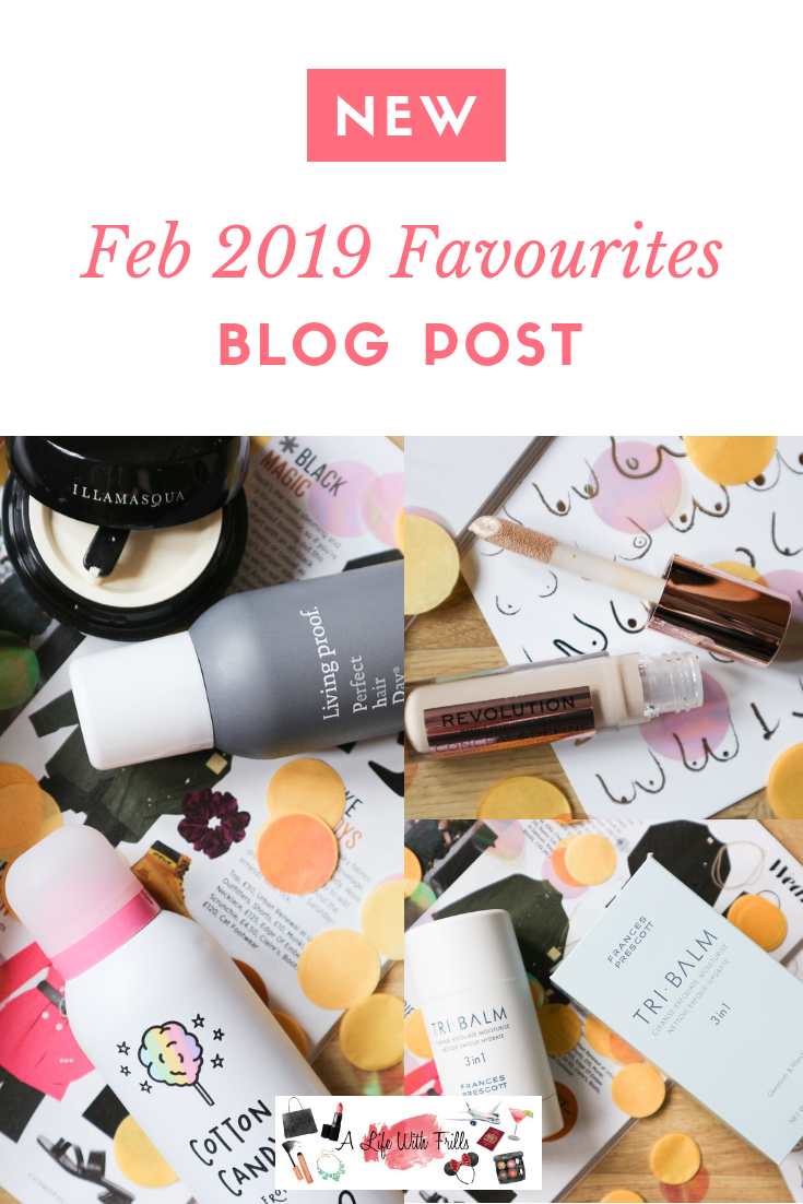Monthly favourites blog post