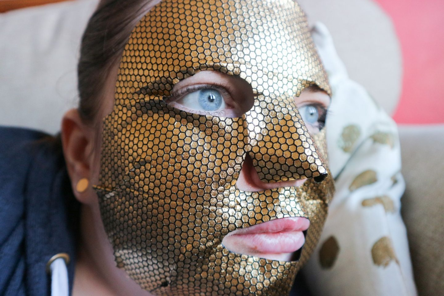 masquebar black gold sheet mask review