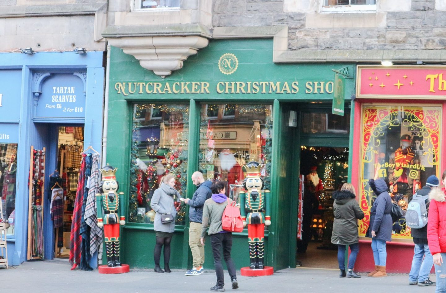 the nutcracker christmas shop edinburgh