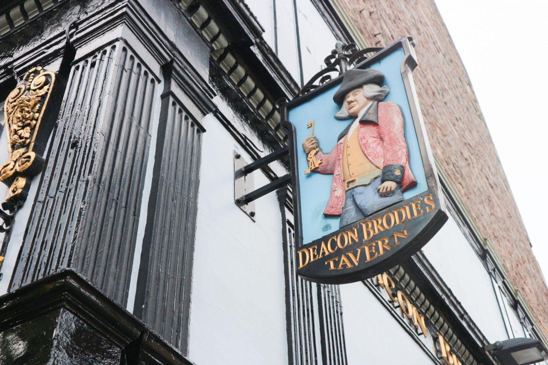deacon brodie's tavern edinburgh