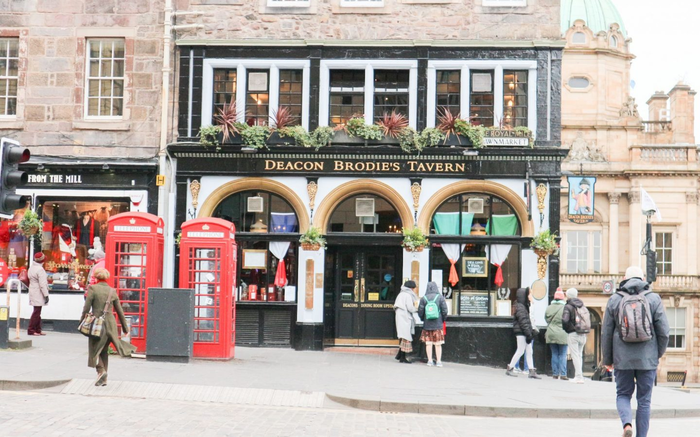 deacon brodie's tavern edinburgh
